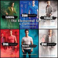Escape Club Elemental Series Brigid Kemmerer Fearless Breathless Belinda Hamilton EBook Review Teen Fiction