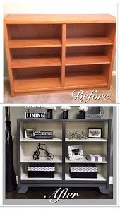 How To Upgrade An Ugly Oak Bookshelf To Look Like A Pottery Barn ... Two Shelf Bookcase Plans Roselawnlutheran Best 25 Pine Ideas On Pinterest Bookcase Pating Amazing Double Wide 55 On Pottery Barn Hendrix Ladder Bookshelf Design Traditional Wood Image Steveb Interior Leaning Free Blythe Fniture Home Dsc05131 Modern Elegant New 2017 Juliette Bedside Table Kids Australia Girls 14 Best Office Images Cleanses Billy Extra Shelves Ldnmencom Ava Desk Espresso Stain Hooker Palisade In Figured Walnut 3 Locking