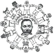 Martin King Activities Worksheets Coloring Pages Kids Mlk Jr Free Luther For Preschoolers Page Pdf