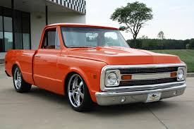 1970 Chevrolet C-10 Custom Shortbed Pickup Truck