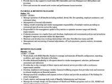 Erp Manager Resume Also Retirement Plan Administrator Sample Qualities Of A