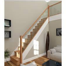 Relieve Household Clutter With Storage Stair Brackets — The Homy ... Stairs Amusing Stair Banisters Baniersglsstaircase Create Unique Metal Handrailings With Pinnacle Staircase And Hall Contemporary Artwork Glass Banister In Best 25 Glass Balustrade Ideas On Pinterest Handrail Wwwstockwellltdcouk American White Oak 3 Part Dogleg Flight Frameless Stair Railing Elegant Safety Architecture Inspiring Handrails For Beautiful Amusing Stright Banister With Base Frames As Decor Tips Cool Banisters Ideas And Newel Detail In Brown