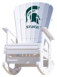 Michigan State University Spartans Rocking Chair Hardwood Rocking Chair Ohio State Jumbo Slat Black Ncaa University Game Room Combo 3 Piece Pub Table Set The Best Made In Amish Chairs For Rawlings Buckeyes 3piece Tailgate Kit Products Smarter Faster Revolution Axios Shower Curtain 1 Each Michigan Spartans Trademark Global Logo 30 Padded Bar Stool