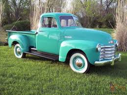 1953 CHEVROLET-5 WINDOW-DELUXE--OCEAN GREEN