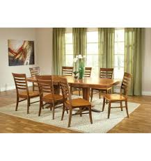 96 Inch Milano Dining Table Bare Wood Fine Furniture Vibrant