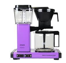 Purple Moccamaster Coffee Maker At The Store