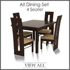 4 Seater Dining Set Four Table And Chairs Gorgeous