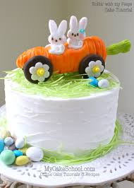 Carrot Car Cake Topper Rollin with my Peeps