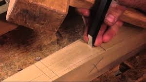 Woodworking by Traditional Woodworking Demonstration Joining Dovetail