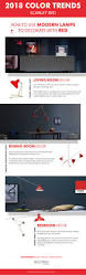 Popular Living Room Colors 2018 by 2018 Colors Trends Red Scarlet By Pantone Is On Our Radar
