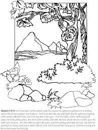Day3 Bible Coloring Pages