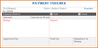 Ms fice Templateymabt Voucher Template In MS Word