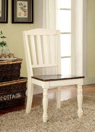 Furniture Of America Furniture Of America Vintage White Lanie Cottage Style  Dining Chair (Set Of 2)