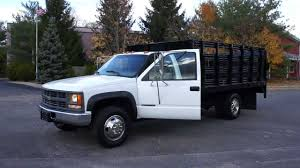 100 2000 Chevy Truck For Sale 3500 4x4 Rack Body BRAND NEW 65L Turbo