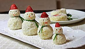 comment faire un bonhomme de neige en patates pilées cinq