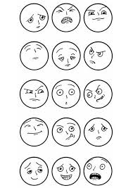 Sheets Emotions Coloring Pages 44 In Print With