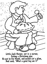Fashion For Nursery Rhyme Coloring Pages