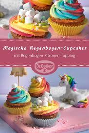 magische regenbogen cupcakes