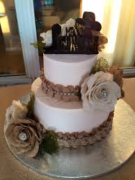 Burlap Western Theme Cake My 18th Wedding Anniversary Sister Did A Wonderful