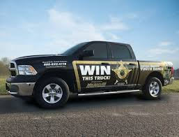 100 Win Truck A 2 Raffle Ticket Could Get You A New Truck