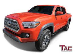 Amazon.com: TAC Side Steps For 2005-2018 Toyota Tacoma Double Cab ... Airdesign Usa To Debut 2016 Toyota Tacoma Kit The Shop Chevrolet 2017 Adds Offroready Trd Pro Trim Accsories For Sale In Modesto Ca Amazoncom 2018 Piano Black Tailgate Trendy Leer Tonneau Topperking Offroad Photo Image Gallery Tacoma Sport Side Stripe Graphics Decal Bed Rack Active Cargo System Short Trucks Truck Pinterest Tacoma And Cars Covers Truck 2009 Pin By Joshua J Cadwell On Toy Accsories