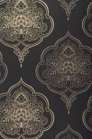 Zoom Maharani Wallpaper Dining Room Accent Wall
