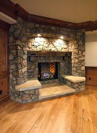 Diy Indoor Fireplace Stone Fireplaces Diy Portable Indoor