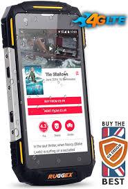 4G LTE Rugged Smartphone IP68 Waterproof Tough Durable NFC Rhino2