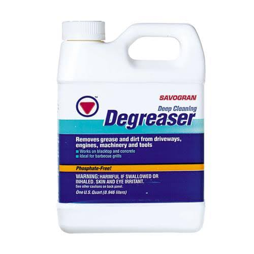 Savogran Driveway Cleaner And Degreaser - 1qt