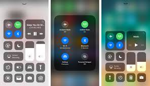 iOS 11 s Control Center How it works