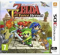 the legend of zelda tri force heroes nintendo 3ds amazon co uk