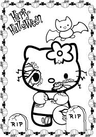 Coloring Pages Free Printable Scary Sheets Halloween Disney To Print Online