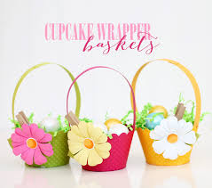 Paper Cup Flower Basket