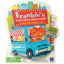 100 Food Truck Games Frankies Fiasco Game EI3414 Learning Resources