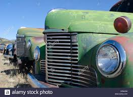 100 1930s Trucks A Row Of Old Trucks Dating Back To The And 1940s Are Lined