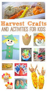 Thanksgiving Harvest Craft Ideas For Kids While Lesson