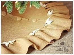 White Christmas Tree Skirt Walmart by Burlap Christmas Tree Skirt Walmart Burlap Christmas Tree Skirt