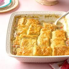 Buttermilk Biscuit Ham Potpie Recipe | Taste Of Home
