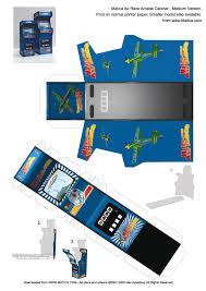 Mame Cabinet Plans Download by Desktop Arcade Cabinet U0026 Bar Stool Desktop Toy Free To Download