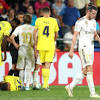 Gareth Bale scores twice before being sent off as Real Madrid fail to beat Villarreal