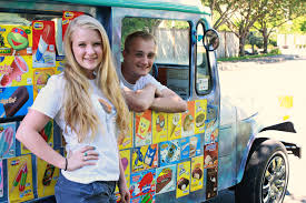 Scoops Of Jupiter: Entrepreneurial Students Create A Summer Business ... Licks Ice Cream Truck Takes Up Post In Brentwood Eater Austin Chomp Whats Da Scoop Shopkins Scoops Playset Flair Leisure Products 56035 New Exclusive Cooler Bags Food Fair Season 3 Very Hard To Jual Mainan Original Asli Helados In Box Glitter Moose Toys And Accsories Play Doh Surprise
