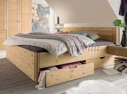 massivholz bett 200x200 komforthöhe xl schubladenbett kiefer gelaugt geölt