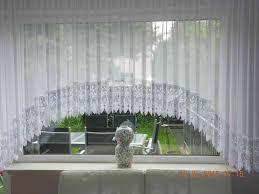 wunderschöne blumenfenster c bogenstore 25cm spitze voile gardine fertiggardine fertiggenäht