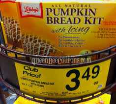 Libbys Pumpkin Bread Recipe by Safeway Libby U0027s Pumpkin Bread Kit With Icing Only 2 99 With New