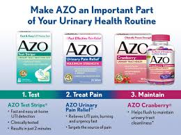 Azo Urinary Tract Infection Test Test Strips 3 strips