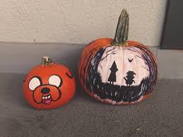 Last Years Painted Pumpkins Halloween