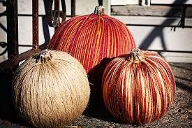 Dryer Vent Pumpkins Tutorial by 50 Different Pumpkin Crafts For Fall Minus The Real Pumpkins