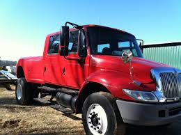2004 International 4300 Crew Cab Pickup Conversion | Deadclutch