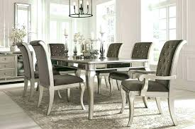 Elegant Dining Table Set Room Chairs High End Formal Sets For Sale White Furniture Sales Tables And