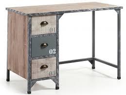 bureau metal et bois bureau metal bois bureau design bois et m tal jugend by drawer for